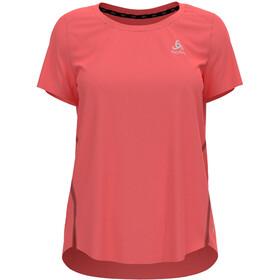 Odlo Zeroweight Chill-Tec T-Shirt S/S Crew Neck Women, czerwony